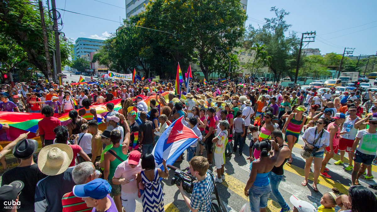 These series of events represent Cuba's participation in the International Day Against Homophobia and Transphobia, which takes place on May 17. Havana, Cuba
