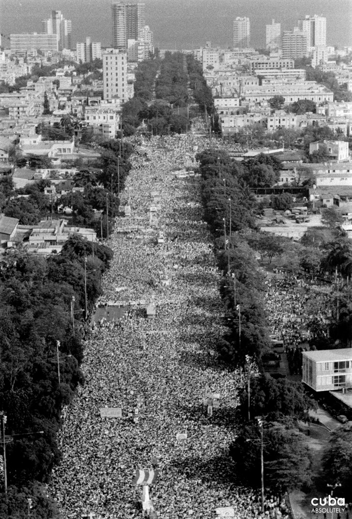Until 1959, the May Day demonstrations were held to denounce the exploitation of workers in the country. Havana, Cuba