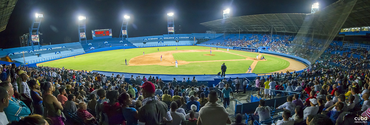 Simplicity is the key word for baseball in Cuba, with no luxury boxes, huge electronic scoreboards or celebrity baseball players. Havana, Cuba