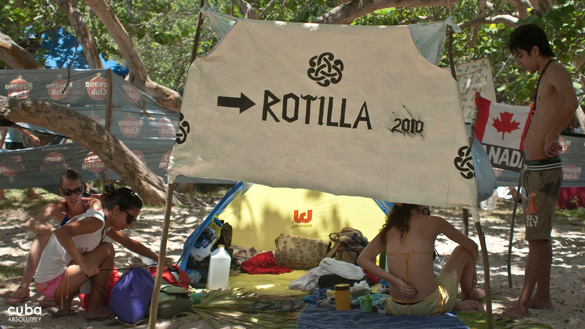 The Rotilla Festival is sponsored by certain businesses and embassies in Cuba and the Serbian Exit Music Festival. Havana, Cuba