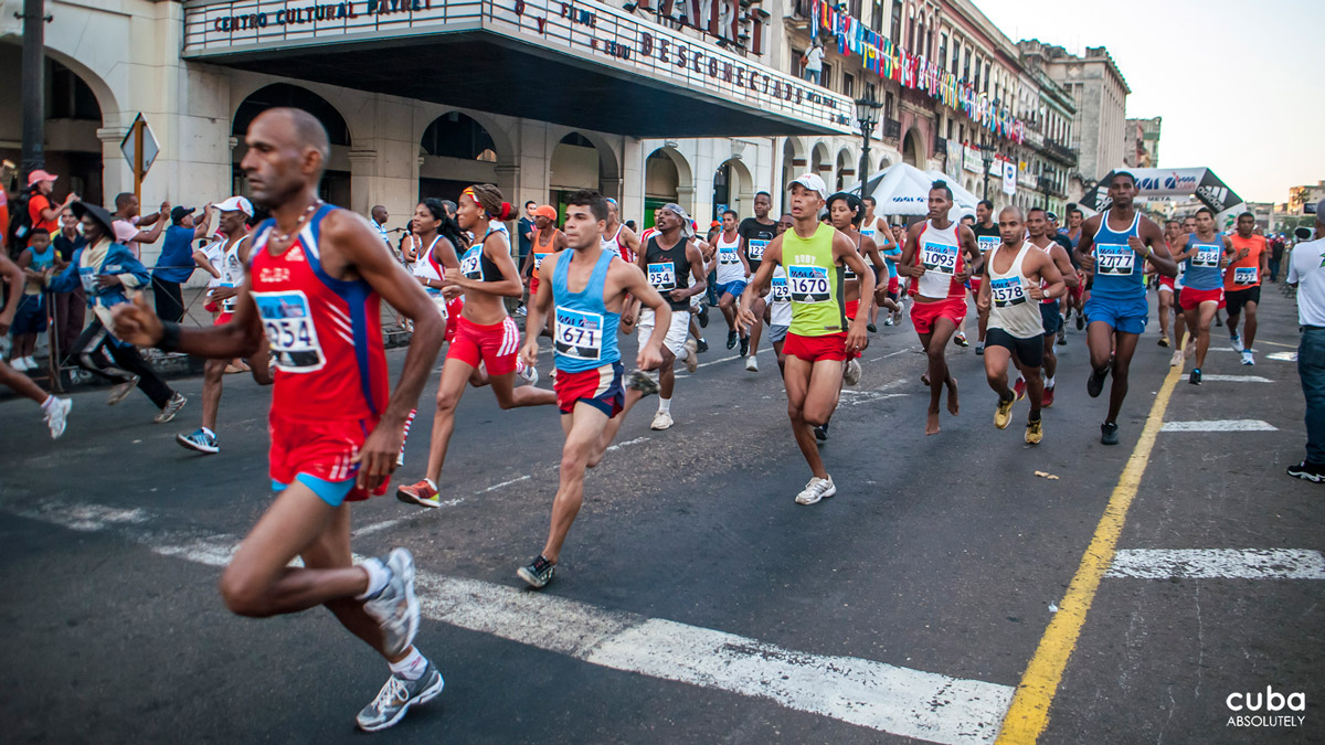 Marabana is Havana's annual marathon. Typically an exercise for me in making resolutions to get fit and participate in the race the next year, or a reminder that last's year's resolution is now forfeit. Havana, Cuba