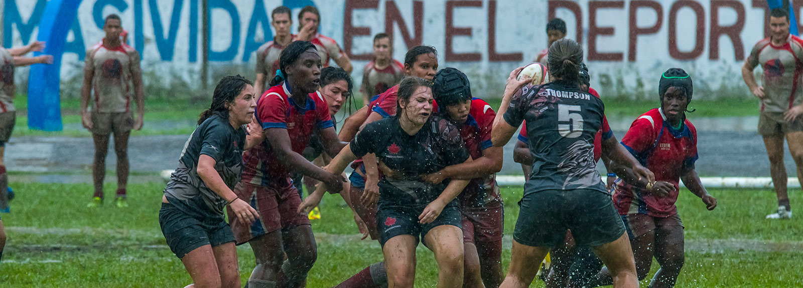 Havana is not known for it's rugby so it was something of a surprise to see rugby posts erected and some pretty formidable looking men (and woman) limbering up last weekend at the Eduardo Saborit Stadium in Havana's leafy Western suburb of Siboney.  Havana, Cuba